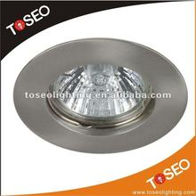 die casting aluminium recessed ceiling spot downlight / halogen light