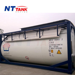 24000L T50 portable transport gas lpg iso tank container