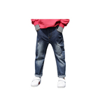 Wholesale High Quality Latest Scratched Boys Child Jeans Kids Fashion Boys Jeans