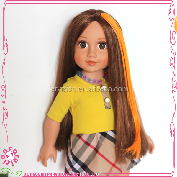 Real Hair Stylish Wig Doll Ce 18 Baby Girl Doll Wigs Wholesale Buy
