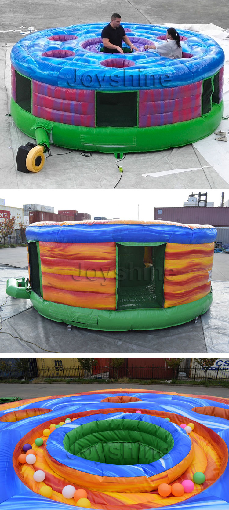 Wholesale Inflatable Human Whack a Mole Game Machine Giant Inflatable Whack-A-Mole Game, Inflatable Whack