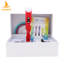 Novelty DIY 3D Printer Wax Children Gift Pen Magic Cheap Promotional Pen 3d