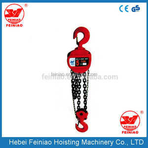 portable manual chain hsz 20 ton Juying hoist, widely used lifting machine