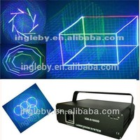 1W full color 3d projector animation laser light