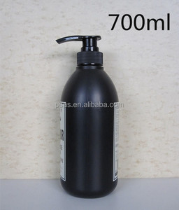 700ml PET HDPE Lotion Pump spray Plastic Shampoo Bottle for Sale