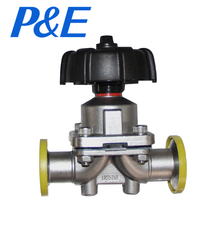 304 316L stainless steel manual sanitary valve