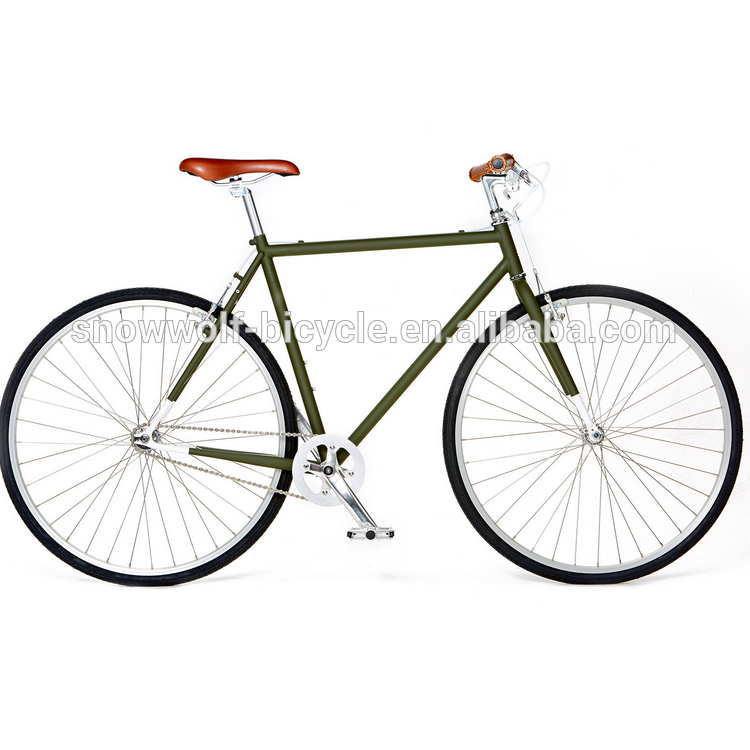 Commuter Bike Track Bike Classic Fixie Bike In Green China Suppier