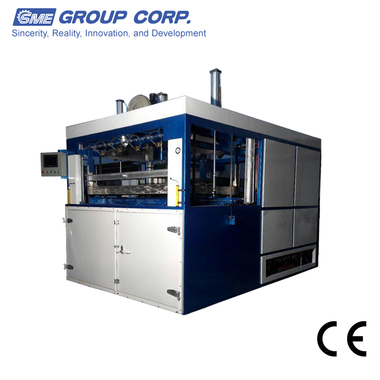Plastic tray or turnover pallet Thick sheet vacuum forming machine
