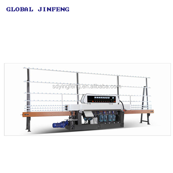 Automatic China made Low Price glass beveling machine with 7 engines