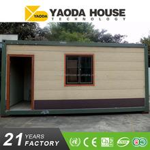 Quick Install Flat Pack Container House Luxury Prefabricated
