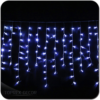 home decor christmas outdoor led icicle lights