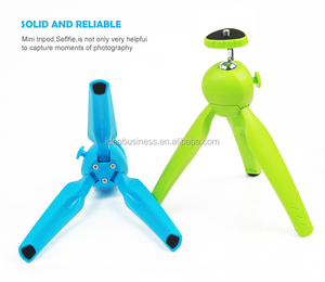 Flexible Mini Camera Tripod with Universal 1/4-inch Tripod Screw Mount