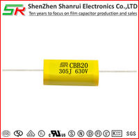 Manufacture of ROHS Complicant ceiling fan parts capacitor CBB20 air compressor price list