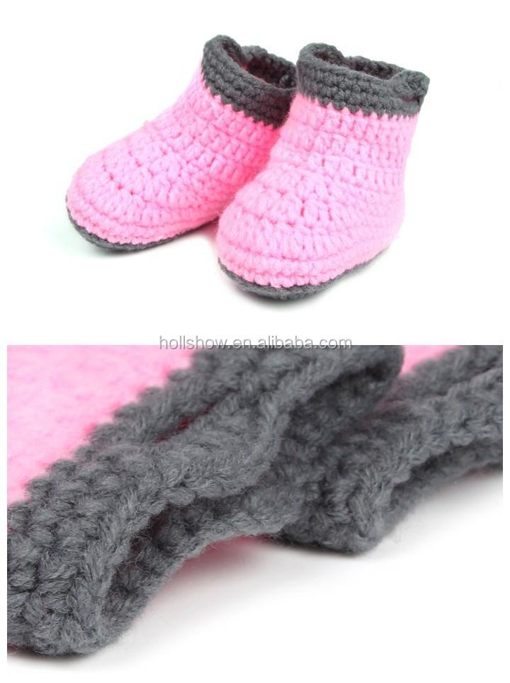 Mode Niedlich Handgefertigt Baby Mütze Kinder Jungen Mädchen Häkeln