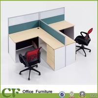 Management cable system office desks design