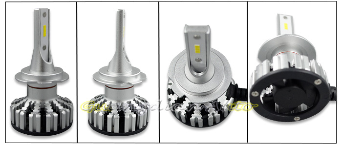 Tcart  Extreme led white H7 30W 3200LM DC12V 24V popular good quality LED headlight bulb