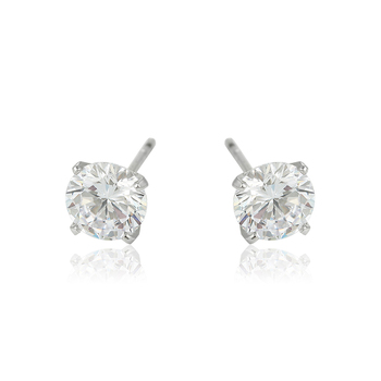 a796ee32c 96293 Xuping Delicate One Stone White Earring Stud With Cz - Buy ...