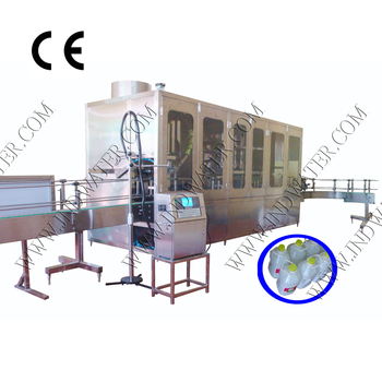 CE standard Linear type 5-10 Liter Bottle Water Filling Machine