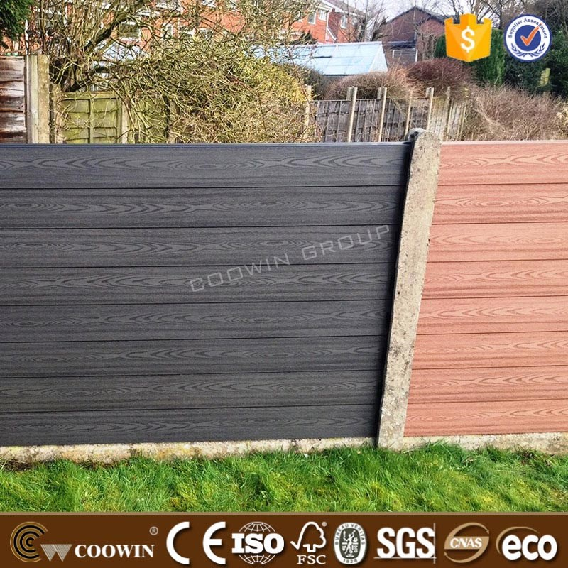 9mm Thickness No-fading Outdoor Used Wooden Fence Panels ...