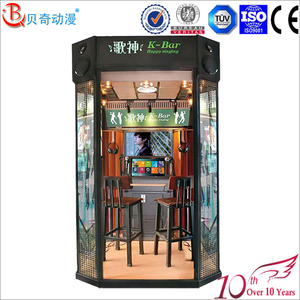 Popular Small KTV room Mini Karaoke booth 2 Players High Quality Indoor Sing Box Music Game Machine Karaoke Mini KTV room
