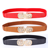 Wholesale High Quality Automatic Buckle Leather Belt For Woman