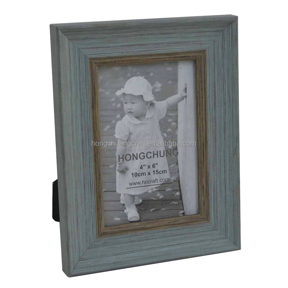 hot selling pink cheap plastic photo frame