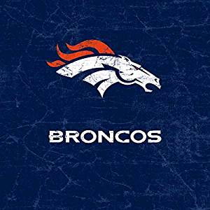 NFL Denver Broncos Lifeproof fre iPhone 5&5s Skin - Denver Broncos - Distressed Vinyl Decal Skin For Your Lifeproof fre iPhone 5&5s