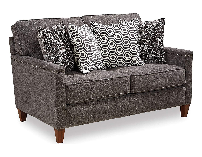 Fantastic Buy Broyhill 6262 1Q2 Emily Loveseat In Green Stripe In Ibusinesslaw Wood Chair Design Ideas Ibusinesslaworg