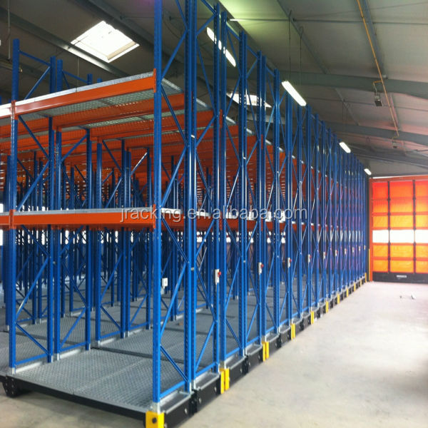 Jracking warehouse metal rack systems Q235 steel powder coating used storage shelving mobile literature rack
