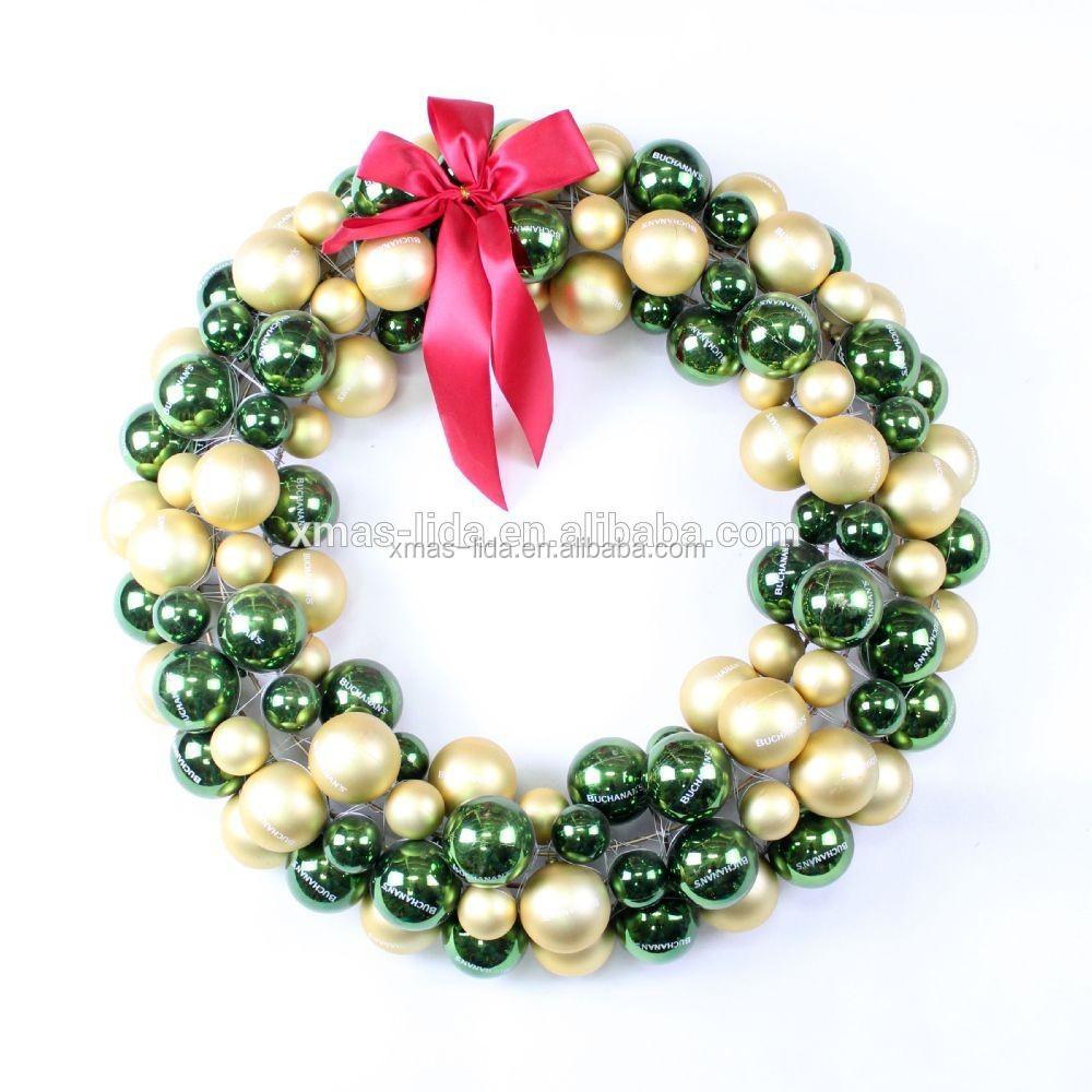 Xmas Wreath Ball Decoration Types Of Christmas Decorations - Buy ...