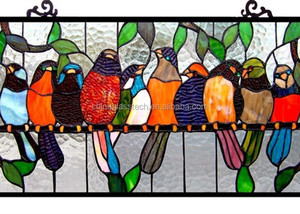 CE, CCC, ISO factory Supply tempered tiffany stained glass