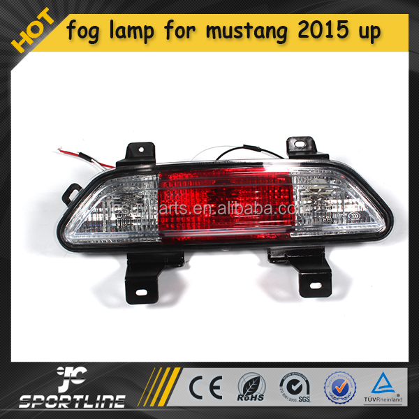 12V 55W ABS Rear Fog Lamp Light Fit for Ford Mustang 2015 UP