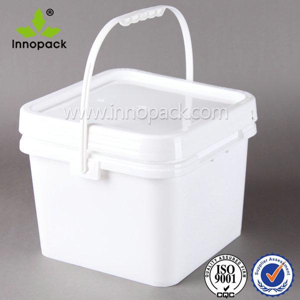 1 2 3 Gallon 3 7 8 9 10 20l Square Rectangular Plastic