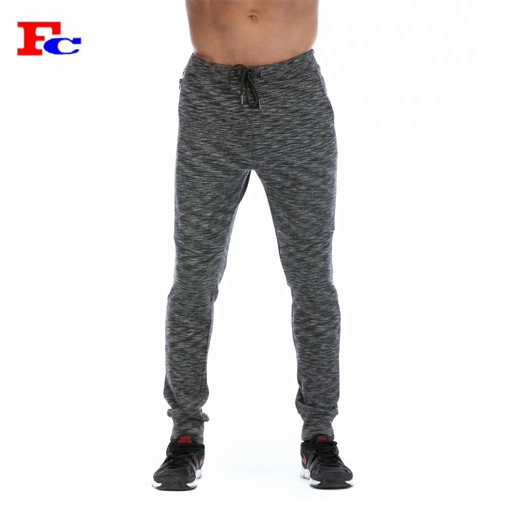 994c2d274 Side Zipper Pocket Fleece Joggers Sweatpants Wholesale Custom Mens Track  Pants