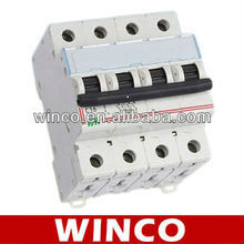 C45 4P 16A Home Small Circuit Breaker for Over Current Protection