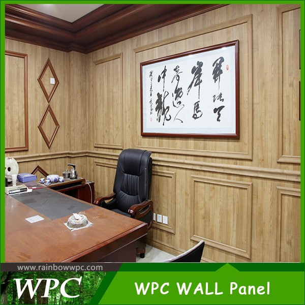 Yongxin High Glossy Wpc Wall Panel For Wall Decoration