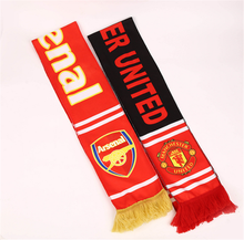 Promotional Customized Design Printed Sport Fan Support Polyester Scarf