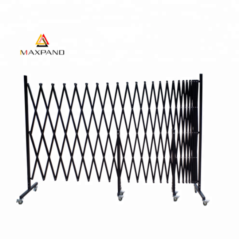 MAXPAND Metal Telescopic Temporary Fence Accordion Customized Folding Collapsible Scissor Gate