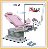 DH-S104A Supply with swing shadowless lamp electric gynecology bed
