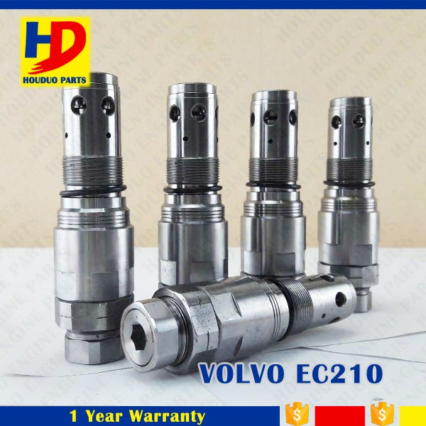 EC210 For VOLVO 210 240 290 Swing Motor Relief Valve Fit For Excavator Diesel Engine Parts OEM Size