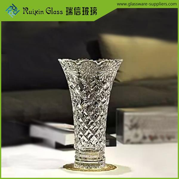 Lead free vase glass round glass vase for sale