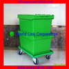 Attach Lid Security Virgin PP Storage Crate for Package