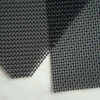 11 Mesh x 0.8mm Stainless Steel 304 316 powder coating Security Woven Wire Mesh