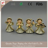 Factory OEM Design Resin Fairy Figurines Plastic Angel Figurine