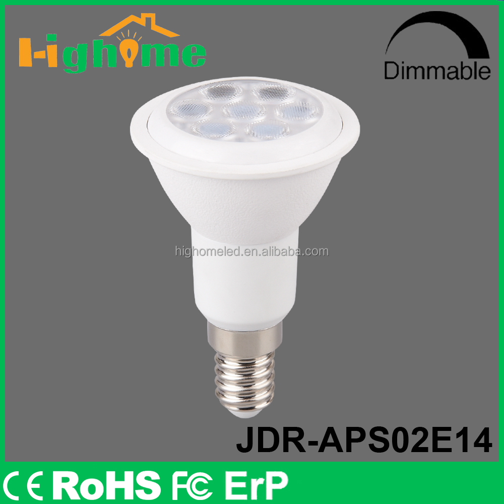 2015 Hot product LED JDR Light Professional 5w/380lm