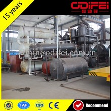 hot selling waste tyre pyrolysis oil generator from local mill