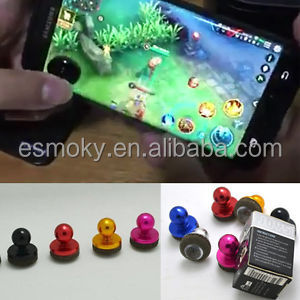 Mini Tactile Game Joystick Cap Rocker Touch Tablets Game Joystick Joypad Metal Sucker