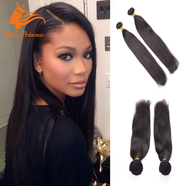 Factory Stock 7A Natural <strong>Black</strong> Fast Selling Virgin Human Hair Smooth Tangle Free Brazilian Straight Hair Weft