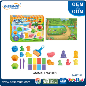 3D Animal world play dough modeling clay for sale