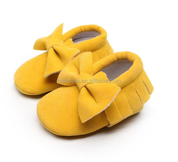 Infant Toddler Kids Prewalker Baby Moccasins PU Leather Fringe Baby Shoes Newborn Baby Crib Suede Shoes Soft Sole Infant Moccasi